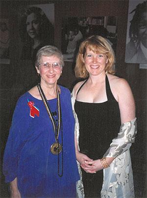 Virginia Euwer Wolff and Brenda Bowen